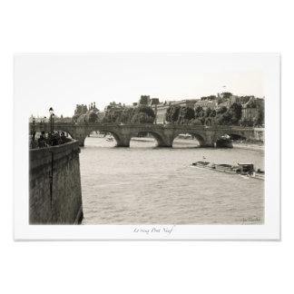 París, el Sena Impresiones Fotográficas