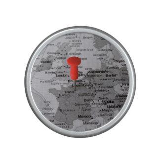 París en el mapa altavoz