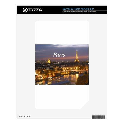 París en la noche [kan] skins para NOOK color