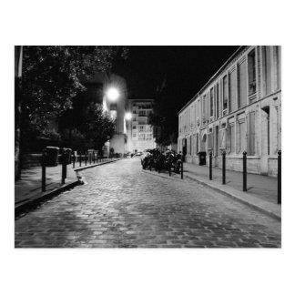 París en la noche tarjetas postales
