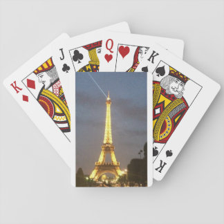 París en la noche: Torre Eiffel Baraja De Cartas