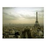 París en la oscuridad postal
