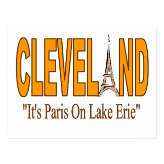 París en la postal del lago Erie