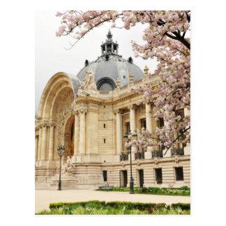 París en primavera postal