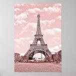 París en rosa, Eiffel Towea Impresiones