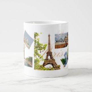 París en tiempo de primavera - taza - 20 onzas gra taza extra grande