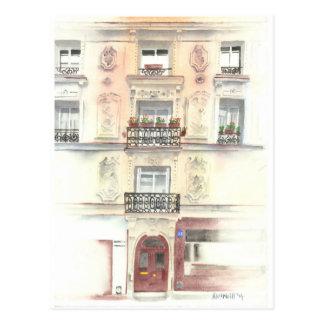 Paris Entrance, Postcard