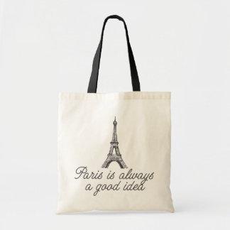 París es siempre una buena idea bolsas