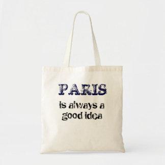 PARÍS es siempre una buena idea Bolsa Tela Barata