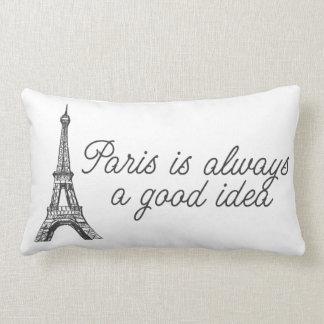 París es siempre una buena idea cojin