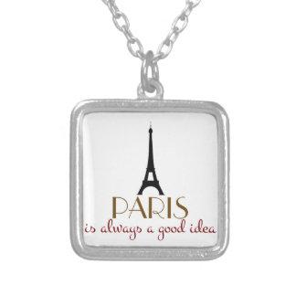 París es siempre una buena idea pendientes personalizados