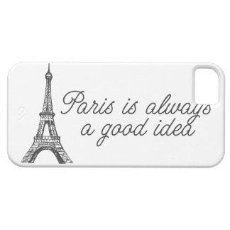 París es siempre una buena idea iPhone 5 funda