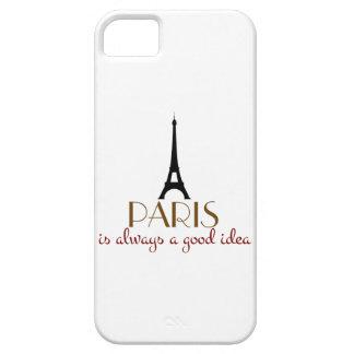 París es siempre una buena idea iPhone 5 carcasa