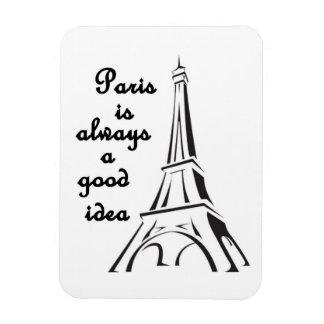 París es siempre una buena idea - imán