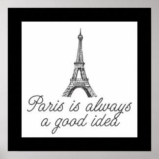 París es siempre una buena idea poster