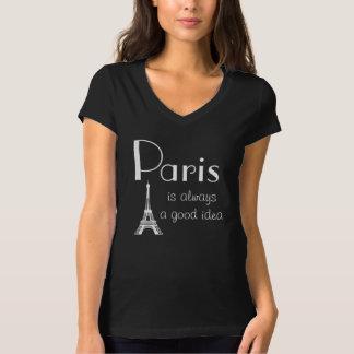 París es siempre una buena idea playeras