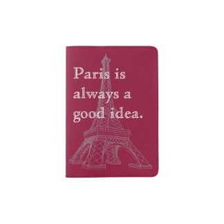 París es siempre una buena idea porta pasaporte