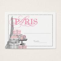 Paris Escort Table Cards