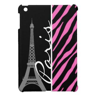 París; Estampado de zebra rosado y negro