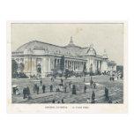 Paris Expo 1900, Champs Elysees Grand Palais Postcard