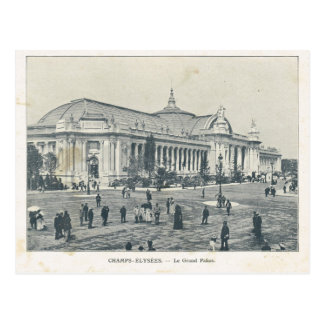 Paris Expo 1900, Champs Elysees Grand Palais Postcard