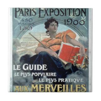 Paris Exposition 1902 BC Ceramic Tile