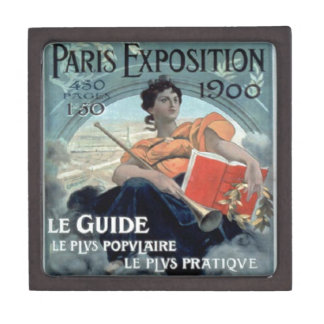 Paris Exposition 1902 BC Jewelry Box