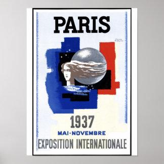 Paris Exposition 1937 Poster