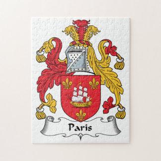 Paris Family Crest Puzzle