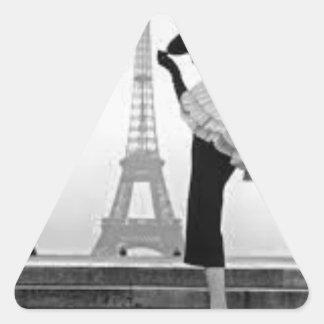 Paris Fashion Triangle Sticker