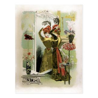 Paris Fashions  ~ Postcard Fashion Plate