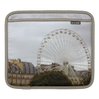 Paris Ferris Wheel - iPad Sleeve