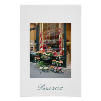 Paris Florist 2003 Poster