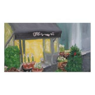 PARIS FLOWER SHOP BUSINESS CARD