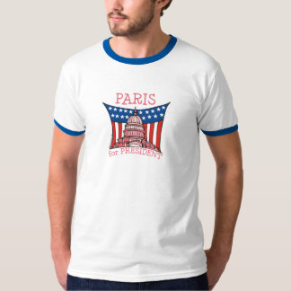 Paris for President T-Shirt