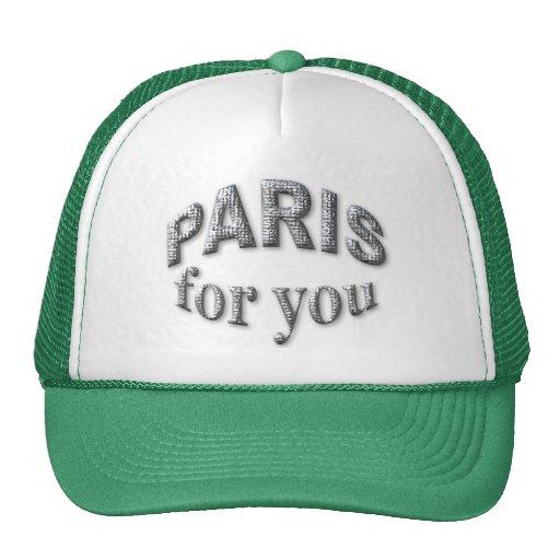 Paris for You Hats