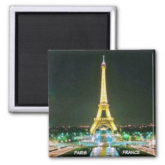PARIS, FRANCE 2 INCH SQUARE MAGNET