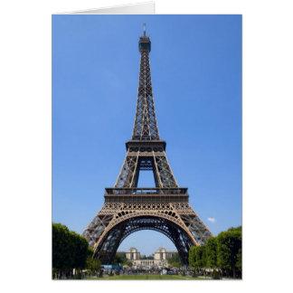 Paris, France 3 Card