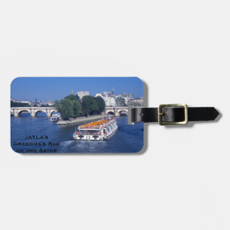 Paris France Bag Tag