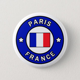 Paris France button