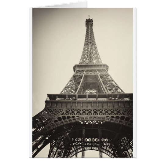 Paris, France Card