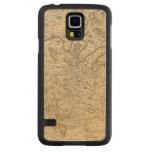 Paris France Carved® Maple Galaxy S5 Slim Case