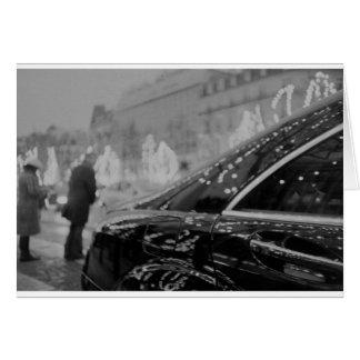 Paris France Champs Elysées Back LCA lomographic a Card