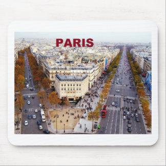 Paris France Champs Elysees (St.K) Mouse Pad