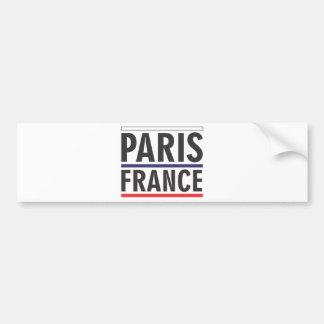 paris france city bumper sticker