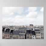 Paris France Cityscape Poster