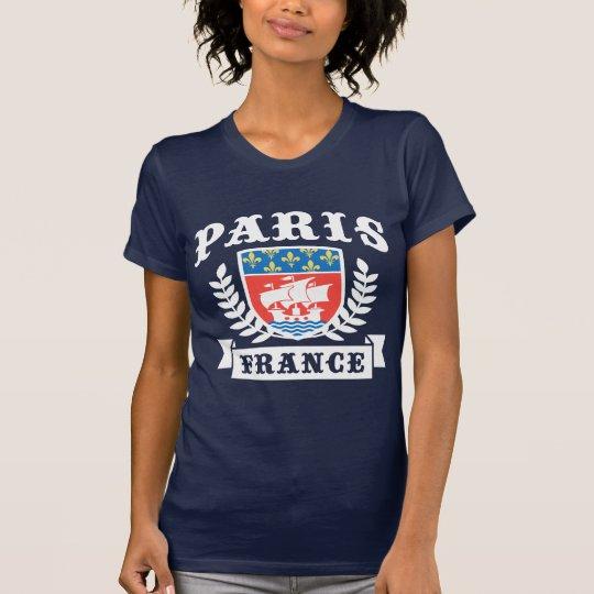 Paris France Coat of Arms T-Shirt