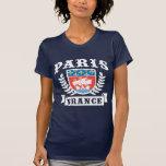 Paris France Coat of Arms Tee Shirt