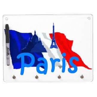 Paris France Dry-Erase Boards