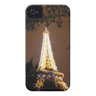 Paris, France - Eiffel Tower at Night iPhone 4 Case-Mate Cases